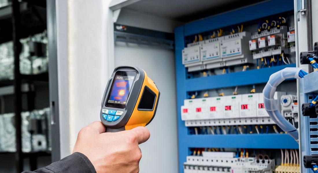 Termografering af el-tavler og anden elektrisk udstyr